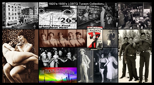 1920's Gay LGBT LGBTQ Queer History Copyrighted Tucson Gay Lesbian Bisexual Transgender Queer Museum