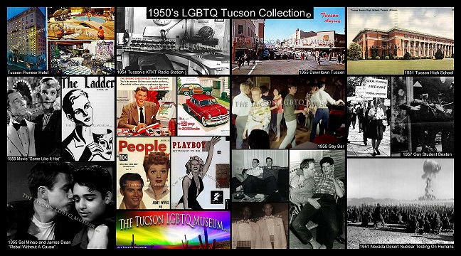 Tucson Gay LGBT LGBTQ Queer Museum Copyrighted 1950's Collection