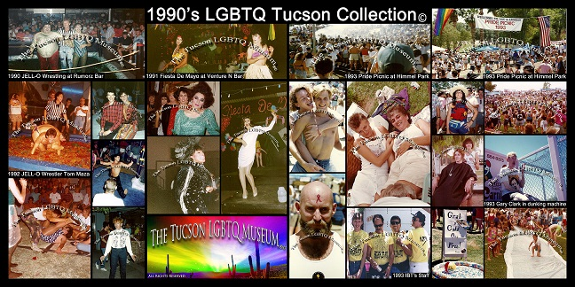 1990's LGBTQ Collection Copyrighted Tucson Gay Lesbian Bisexual Transgender Queer Museum