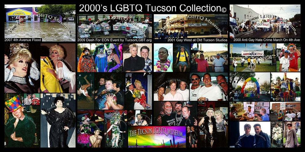 Tucson Gay Lesbian Bisexual Transgender Queer Museum 2000's Copyrighted History Collection